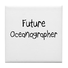 Future Oceanographer Tile Coaster