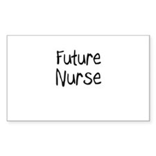 Future Nurse Rectangle Decal