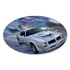 Trans Am Art 2 Oval Sticker