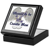 Blessed Coastie Mom Keepsake Box