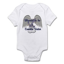 Blessed Coastie Sister Infant Bodysuit