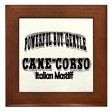 Cane Corso Power Framed Tile