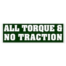 The All Action Bumper Bumper Sticker