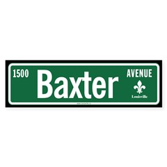 Baxter Avenue sticker
