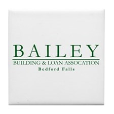 Bailey Bldg & Loan Tile Coaster