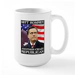 Mitt Romney Crazy Large Mug