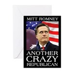 Mitt Romney Crazy Greeting Cards (Pk of 10)