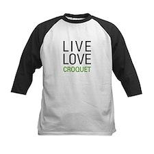 Live Love Croquet Tee