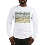 BACH Music Autograph Long Sleeve T-Shirt