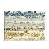 BACH Music Autograph Postcards (Package of 8)