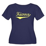 Kierra Vintage (Gold) Women's Plus Size Scoop Neck
