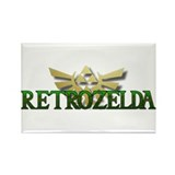 Retrozelda Rectangle Magnet (10 pack)