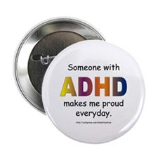 "ADHD Pride 2.25"" Button"