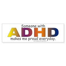 ADHD Pride Bumper Car Sticker