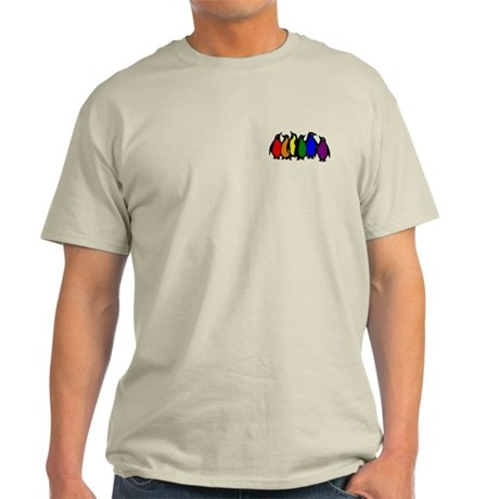 Rainbow Penguins Light T-Shirt