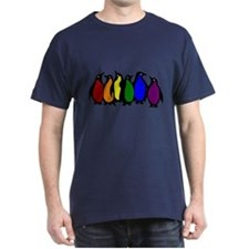 Rainbow Penguins T-Shirt