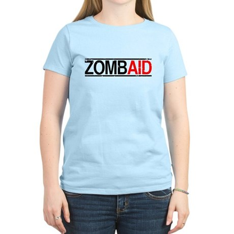 ZombAid Womens Pink T-Shirt