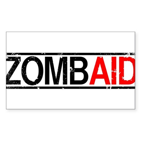 ZombAid Rectangle Sticker