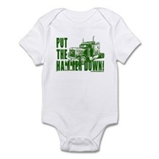 Trucker-Hammer Down-Grn Infant Bodysuit