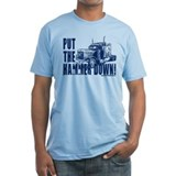 Trucker-Hammer Down-Blue Shirt