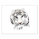 White Tiger Small Poster