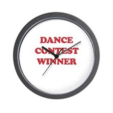 Dance Contest Winner Wall Clock