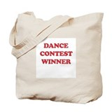 Dance Contest Winner Tote Bag