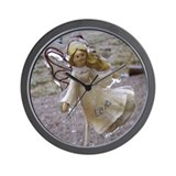 Frozen Love {Angel} Wall Clock