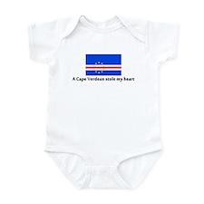 A Cape Verdean stole my heart Infant Bodysuit