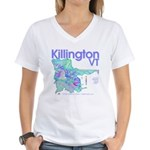 Killington Resort Women's V-Neck T-Shirt