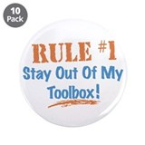 "Toolbox Rules 3.5"" Button (10 pack)"