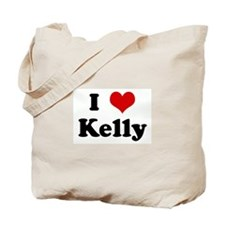 I Love Kelly Tote Bag