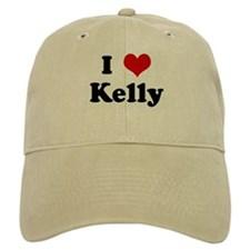 I Love Kelly Baseball Cap
