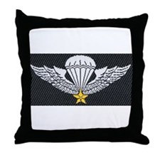 Vietnam Paratrooper Throw Pillow
