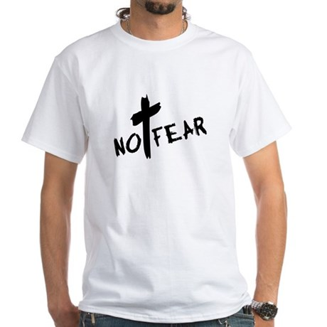 No Fear White T-Shirt
