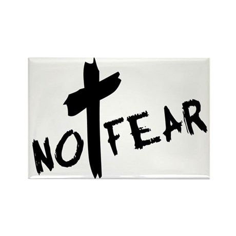 No Fear Rectangle Magnet (10 pack)