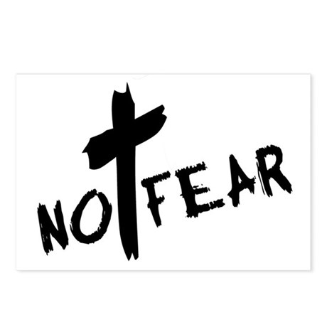 No Fear Postcards (Package of 8)
