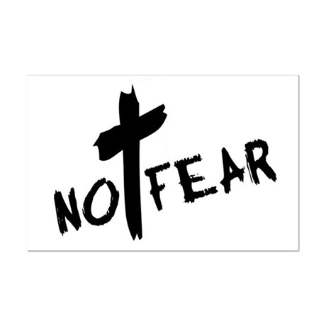 No Fear Mini Poster Print