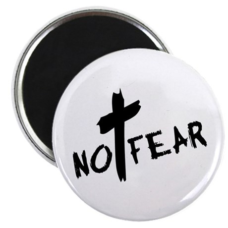 "No Fear 2.25"" Magnet (10 pack)"