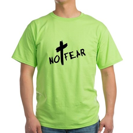 No Fear Green T-Shirt