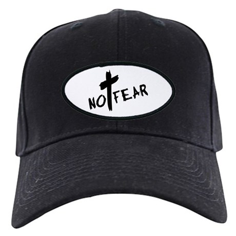 No Fear Black Cap