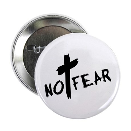 "No Fear 2.25"" Button"