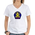 Riverside County Fire Women's V-Neck T-Shirt