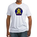 Riverside County Fire Fitted T-Shirt