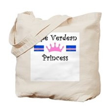 Cape Verdean Princess Tote Bag