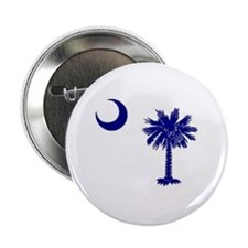 "South Carolina palmetto 2.25"" Button"