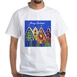 Birdhouse Christmas-- Shirt