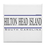 Cute Hilton head island Tile Coaster