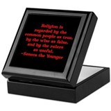 Religion is regarded by the c Keepsake Box