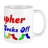 Kristopher Rocks Socks (B) Small Mug
